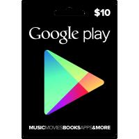 $10 Google Play USA Gift Card