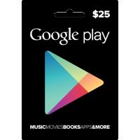 $25 Google Play USA Gift Card