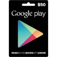 $50 Google Play USA Gift Card