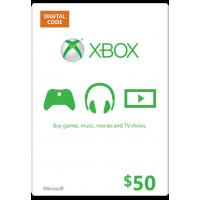 $50 XBOX Gift Card